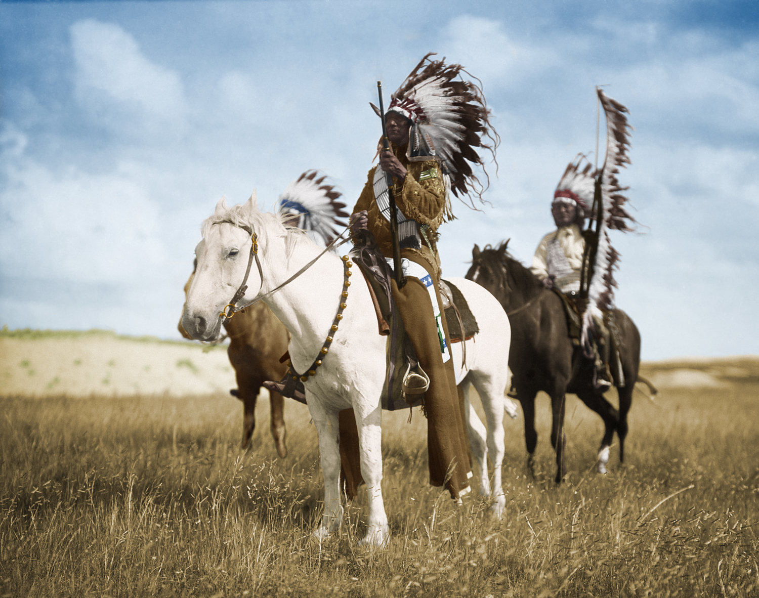 Native American Chief – Photo Restoration
