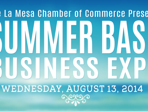 La Mesa Chamber of Commerce Graphics