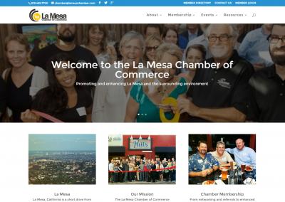 La Mesa Chamber Website