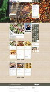 Dinner Deployed Website Screenshot